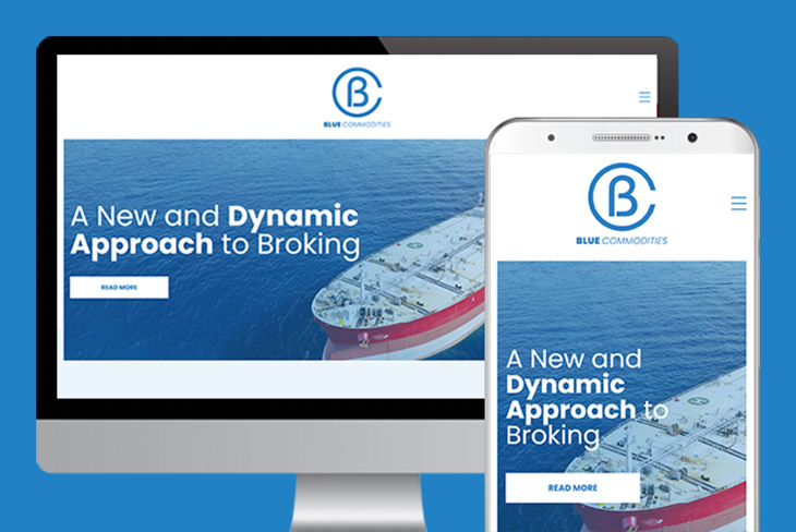 New Blue Commodities Website Launch 1